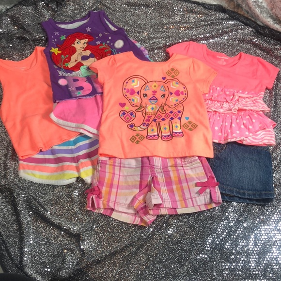 4 girls 24m/2t outfits